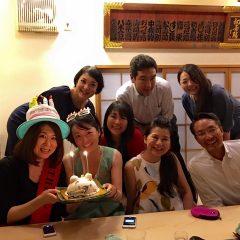♪Fumiko&Akikoさん♪ お誕生日おめでとうございます〜〜‼︎