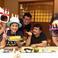 お誕生日おめでとうございます〜〜‼︎ ♪(*^^)o∀*∀o(^^*)♪