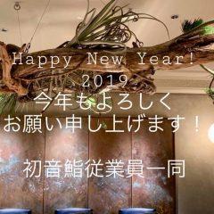 今年もよろしくお願い申し上げます!