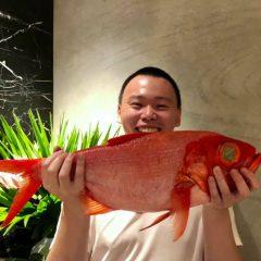2.7キロの金目鯛